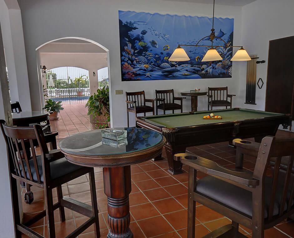 Billiard Room and Mural